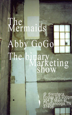 mermaid, abby gogo, binarymarketingshow, discoteca, chattanooga,tn.