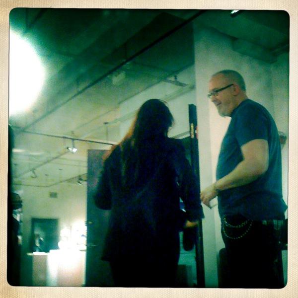 Lea graham & Bruce Covey 11/30/2010 ACA Gallery NY NY